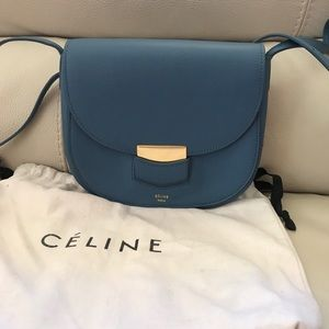 Authentic Celine Troutter small crossbody bag